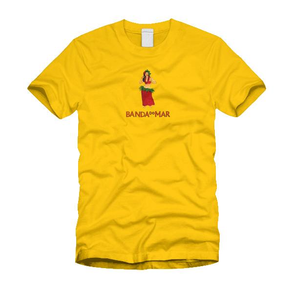 Camiseta Banda do Mar, Hula - Amarela