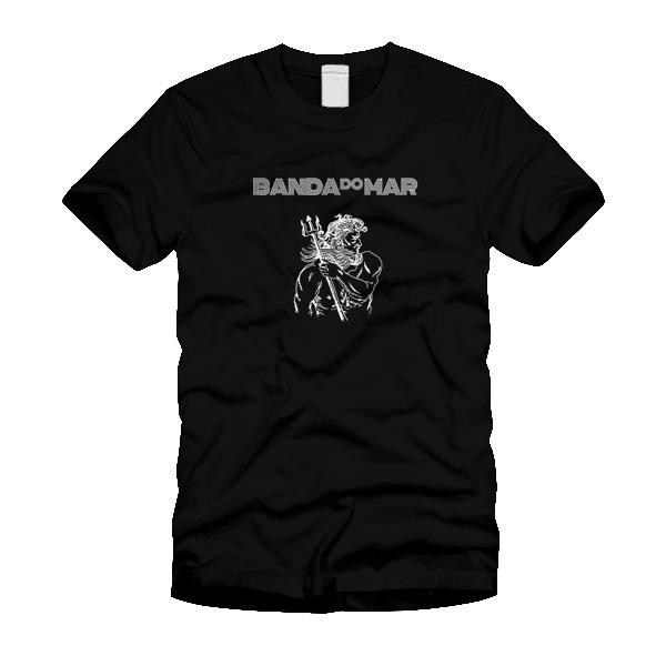 Camiseta Banda do Mar, Poseidon - Preta